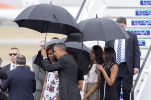 Obama es el primer presidente de Estados Unidos que visita Cuba en casi 90 años y el único que lo ha hecho desde el triunfo de la revolución castrista en 1959.