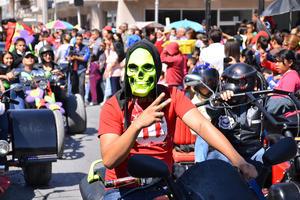 Los conductores de motocicletas también agradaron.