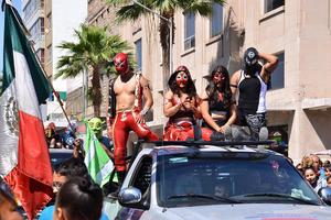 La lucha libre es muy apreciada en algunos sectores de la región.