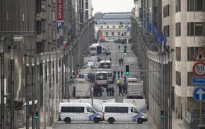 Bruselas está en alerta ante los ataques terroristas.
