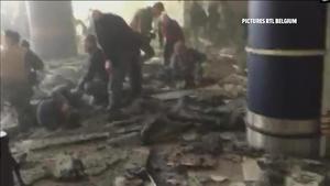 El pánico se apoderó de los viajeros que estaban en el aeropuerto de Bruselas.