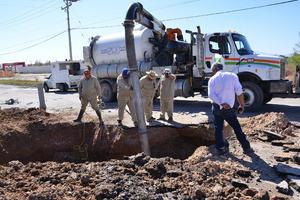 Se levantará un censo de las afectaciones para cubrirlas con un seguro de daños que tiene el Simas.