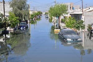 Se notificó a la dirección de Salud Municipal para que distribuya abate en las calles inundadas y el exterior de las viviendas.