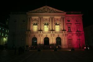 Así lució en Portugal el Ayuntamiento.