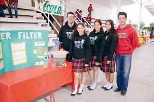 20032016 MUESTRAN SU TALENTO.  Luis, Jessica, Karen, Ana Gaby y Eduardo.