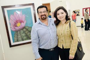 25032016 ADMIRAN OBRAS DE ARTE.  Rafael y Alicia.
