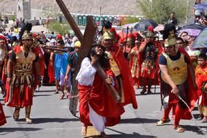 Los romanos no paraban de burlarse de Jesús.