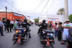 El comandante Humberto Rodríguez Bardem, subdirector de la coordinación de Protección Civil en el Estado, informó que al final del evento se determinó saldo blanco gracias al operativo de vigilancia que se implementó.