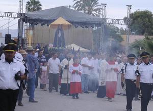 El alcalde Marcelo Quirino López, agradeció al Gobierno del Estado y a la Diócesis de Torreón, el apoyo para la realización de este magno evento, ya que aseguró, sin dichos apoyos hubiera sido imposible realizarlos con éxito.