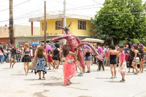 Esta celebración se realiza en la colonia conocida como Trincheras.
