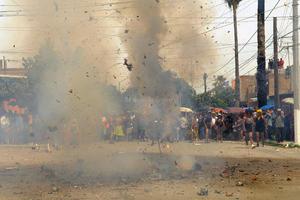 Gómez Palacio celebró la tradicional quema de Judas.