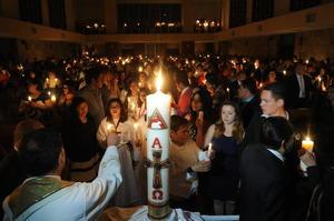 Con esta festividad se inicia el tiempo Pascual, que termina con la celebración de Pentecostés.