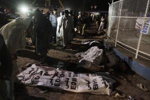 El gobierno provincial del Punjab, cuya capital es Lahore, anunció en su cuenta de Twitter tres días de luto oficial.