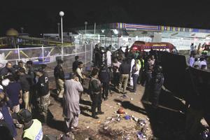 El atentado suicida tuvo lugar en el popular parque de Gulshan Iqbal cerca de una zona infantil en torno a las 19:00 hora local, cuando el lugar estaba lleno de familias.