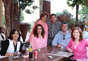 26032016 Rocío, Alejandra, Servando, Rosario, Humberto y Alicia.