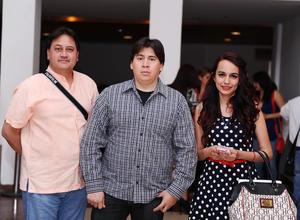 26032016 Manolo, Luis y Diana.