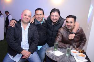 28032016 Gabriel, Edgar, Kike y Miguel.