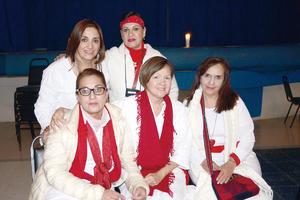 28032016 Rocío, Mayela, Graciela, Gaby y María Elena.