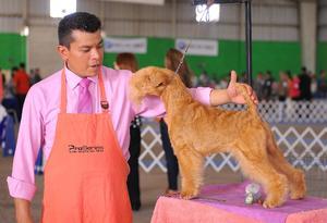 29032016 Juan Ordoñez y la mascota Odín.