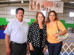 29032016 Vicente Ocón Acosta, María Guadalupe Rodríguez e Iris Barrientos.