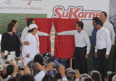 """El presidente de la República resaltó que SuKarne es un proyecto muy relevante, con cifras que calificó de """"impresionantes""""."""