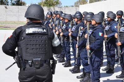 El estado de Coahuila aportó 51 agentes, e igualmente lo hizo Durango.