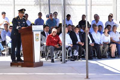 """En la presentación de Fuerza Metropolitana, Diaz Organitos explicó que no habrá """"empalmes"""" en el trabajo que realizan otras corporaciones policiacas."""