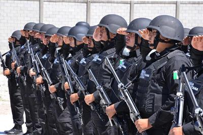 Con 102 elementos, 51 aportados por Coahuila y la misma cantidad por Durango, comenzó operaciones de manera oficial la corporación policiaca Fuerza Metropolitana.