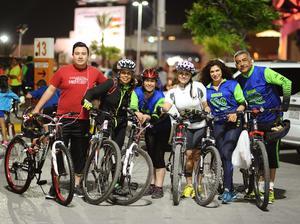 30032016 Leonardo, Laura, Claudia, Rocío, Rosy y Gerardo.