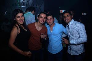 Anette, Ángel, Raúl y Fernando