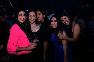 Diana, Fátima, Cristina, Itzel y Anette