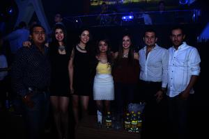Jesús, Diane, Nelly, Yuritzi, Adriana, Jesús y Carlos