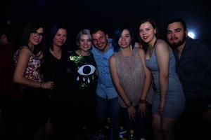 Kimberly, Lala, Fernanda, Ricardo, Cecilia, Melanie y David