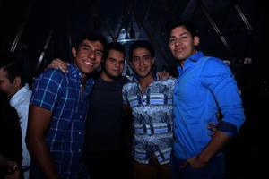 Osvaldo, Alberto, Miguel y Juan Carlos