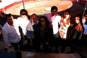 Rudy, Lisa, José, Cristina, Tiffany y Larissa