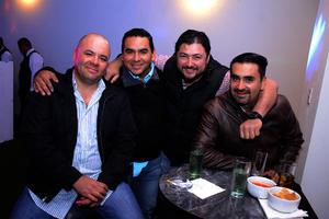 Gabriel, Edgar, Kike y Miguel