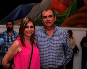 Rosalba y Miguel