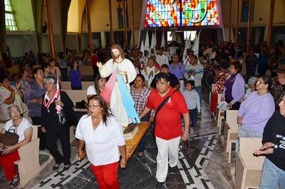 Su destino final fue la Parroquia de San José de Torreón.