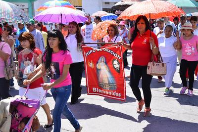 Participaron diversas organizaciones religiosas y ciudadanos.