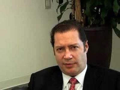 El vicepresidente de la Concacaf, Guillermo Cañedo White.