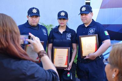 Los elementos afirmaron que es un orgullo ser policía.