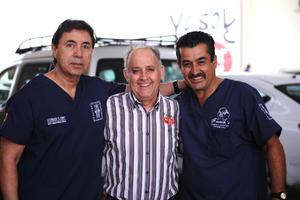 03042016 Miguel Dávila, Rogelio Cuéllar y Armando Villarreal.