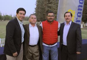 03042016 José Alberto Mesta, José Próspero, Jorge Escandón e Isidro Villegas.
