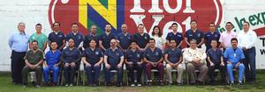 03042016 Integrantes de la Asociación de Médicos Veterinarios que asistieron al taller.
