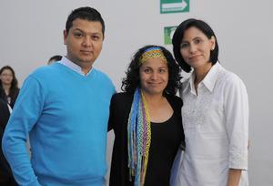 05042016 Francisco, Mary y Cecilia.