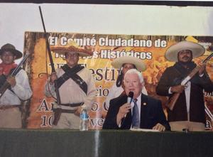 04042016 LA TOMA DE TORREóN.  Jesús Sotomayor impartió una conferencia magistral.