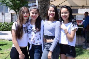 08042016 Sofía, Sandra, Estefanía y Sarahí.