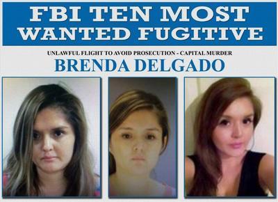 Recientemente, el FBI tomó la decisión de catalogar a Brenda Berenice, como una de las 10 personas más buscadas de los Estados Unidos de América, ofreciendo una recompensa de 100 mil dólares por ser considerada armada y peligrosa.