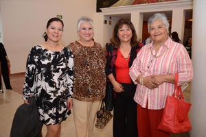 07042016 ENTRE AMIGAS.  Norma, Martha, Rosy y Beva.