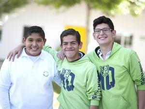 09042016 CONVIVEN.  Luis, Francisco y Luis.